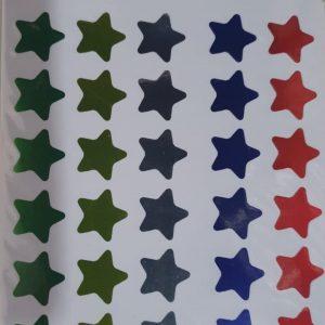 Adesivo Sticker Estrelas C/35 Unidades Moure Jar MJ218422