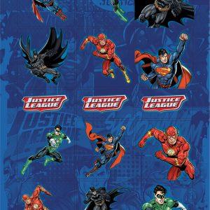 Adesivo Stickers Liga Da Justiça 6 Folhas Jandaia