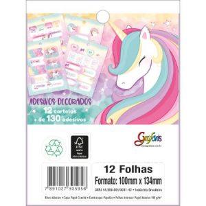 ADESIVO TILIBRA BLOCO BLINK 12FLS 305952