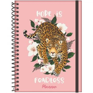 Agenda Planner 2022 Wild Animals Espiral 160 Folhas Foroni 7115677