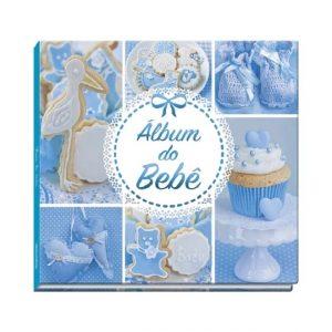 Album do Bebe Azul 48 Paginas - Vale das Letras