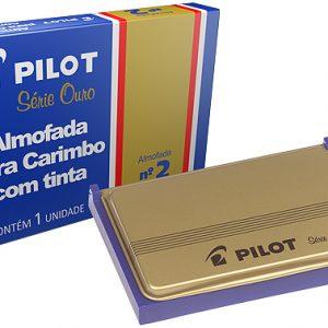 ALMOFADA CARIMBO PILOT N2 AZUL