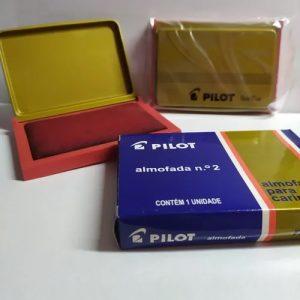 Almofada Para Carimbo N2 Vermelho Pilot Serie ouro