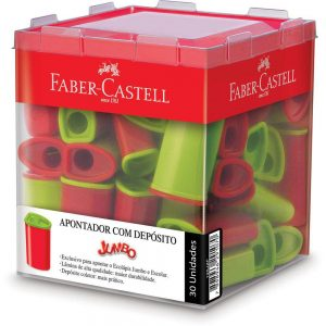 APONTADOR DEPOSITO FABER CASTELL JUMBO 125JZF