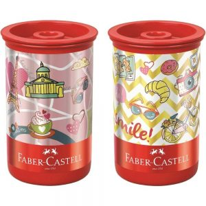 APONTADOR DEPOSITO FABER CASTELL LETS GO SUBSTITUIVEL 123LETSZF