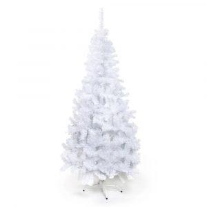 Arvore De Natal Portobelo Branco 120cm 250 Galhos Pe de Plastico - Cromus 1715607