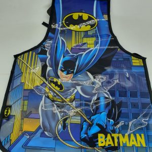 Avental Escolar Batman Pvc AV55556BM
