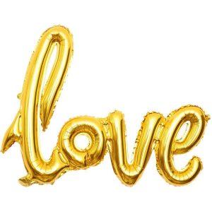 """BALAO METALIZADO LOVE PRATA 42"""" 108X65CM PCT01 8566"""
