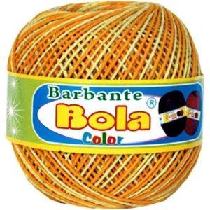 Barbante Piratininga Bola Brilho Amarelo Ouro/Amarelo Bebê Nº 6 350grs 350mts 4/6NE