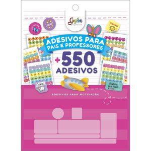 Bloco 550 Adesivos Decorados para Pais e Professores Grafons Tilibra 316946