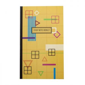 BLOCO ADESIVO EAGLE STICKY NOTES BOOKLET 50FLS 601300