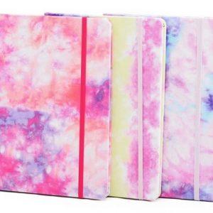 Bloco De Anotação Tie Dye Pautado Win Paper 80Fls WPM62155