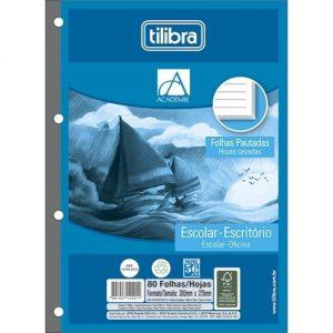 BLOCO FICHARIO ACADEMIE TILIBRA 80FLS 232092
