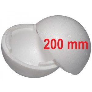 Bola de isopor 200mm c/ 03 Unidades