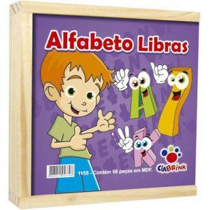 BRINQUEDO ALFABETO LIBRAS 1155
