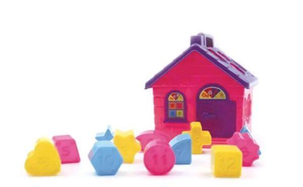 Brinquedo Amor De Casinha 13 Peças Pedagógico 646R Pica Pau