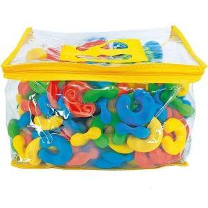 Brinquedo Blocos De Montar Elos Mágicos De Encaixe - Maxi Toys