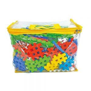 Brinquedo Blocos De Montar Mil Idéias De Encaixe - Maxi Toys