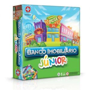 BRINQUEDO ESTRELA BANCO IMOBILIARIO JUNIOR 6 ANOS 1201602800020