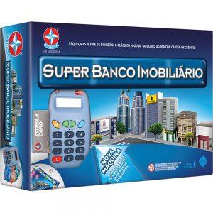 BRINQUEDO ESTRELA BANCO IMOBILIARIO SUPER 8 ANOS 1201602800034
