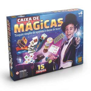 BRINQUEDO GROW JOGO CAIXA DE MAGICAS 15 TRUQUES 01428