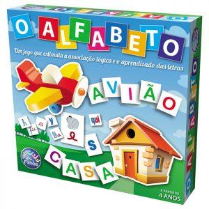 BRINQUEDO JOGO ALFABETO 600 CARTAS +4 ANOS PAIS E FILHOS 1034