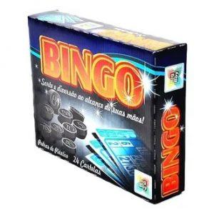 Brinquedo Jogo Bingo 24 Peças Big Boy 1726