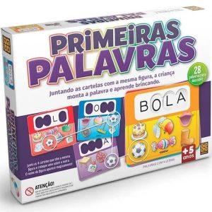 Brinquedo Jogo Educativo Primeiras Palavras - Grow 01705