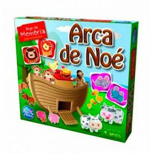 BRINQUEDO JOGO MEMORIAS ARCA DE NOE 04 ANOS PAIS E FILHOS 2785