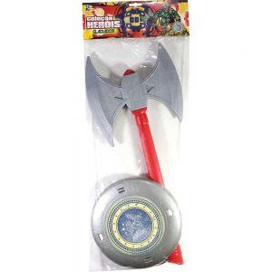 Brinquedo Machado Com Escudo 62Cm - Leplastic
