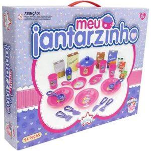 Brinquedo Meu Jantarzinho 24 Peças - Big Star 268MJ