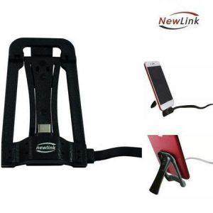 Cabo USB Tipo C 1m c/ Suporte Carregador Preto Newlink ss300