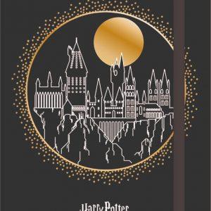 Caderneta Anotação Harry Potter 1/2 Pauta 80 Folhas - Jandaia 6532377