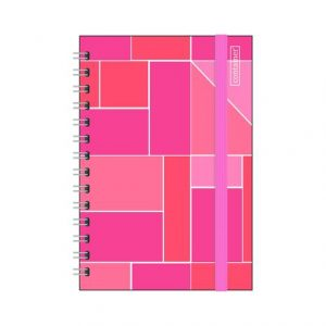 CADERNO 01X1 DERMIWIL CONTAINER BULLET 80FLS 177X240MM 37703