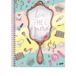 CADERNO 01X1 UNIVERSITARIO CD AMIGAS TEEN 96FLS FORONI 3180807