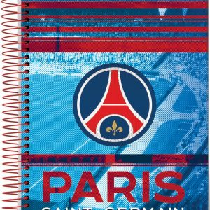 CADERNO 15X1 PARIS SAINT GERMANY 300FLS JANDAIA 6247619