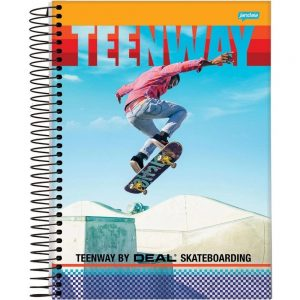 Caderno 15x1 Teen Way 300fls Jandaia