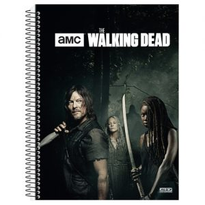 CADERNO 15X1 THE WALKING DEAD SAO DOMINGOS 300FLS