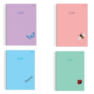 CADERNO 15X1 UNIVERSITARIO CD CLEAN 300FLS SAO DOMINGOS