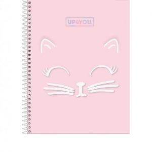 CADERNO 15X1 UNIVERSITARIO CD UP4YOU 300FLS FORONI 3166421