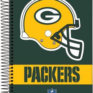 Caderno 20x1 NFL Capa Dura 400fls Jandaia