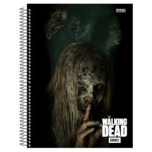 CADERNO 20X1 UNIVERSITARIO THE WALKING DEAD SAO DOMINGOS 400FLS