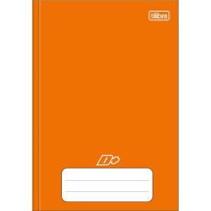 Caderno Brochura Capa Dura 1/4 D+ Laranja 96Fls Tilibra 317390