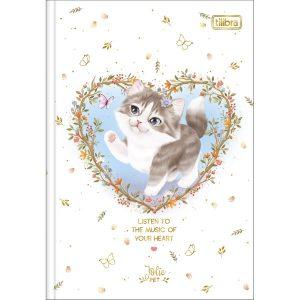 CADERNO BROCHURA CD JOLIE PET 80FLS TILIBRA 292931