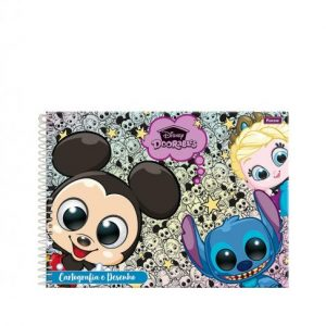 CADERNO CARTOGRAFIA ESPIRAL CD DOORABLES 96FLS FORONI 3365149
