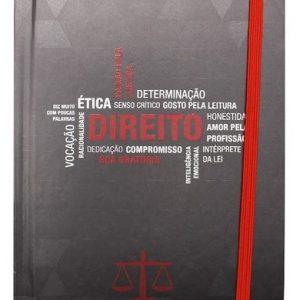 Caderno De Anotação Direito Pillowtex 96Fls Zona Criativa 10070864