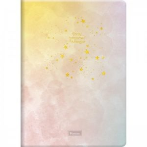 Caderno Grampeado Flexível Tie Dye 32 Folhas Sortido Foroni 4767984