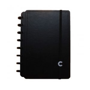 Caderno Inteligente A5 Basic Black 80 Folhas CIA52090