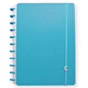 Caderno Inteligente Grande All Blue 80 Folhas CIGD4093