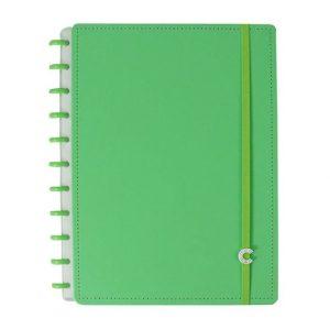 Caderno Inteligente Grande All Green 80 Folhas CIGD4087